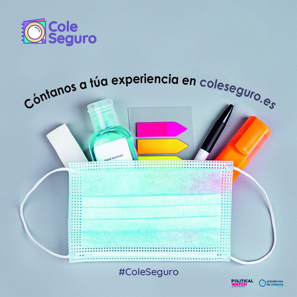 #ColeSeguro